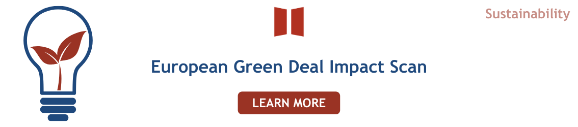 European Green Deal Impact Scan