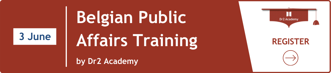 Belgian Public Affairs Training by Dr2 Academy - 3 June