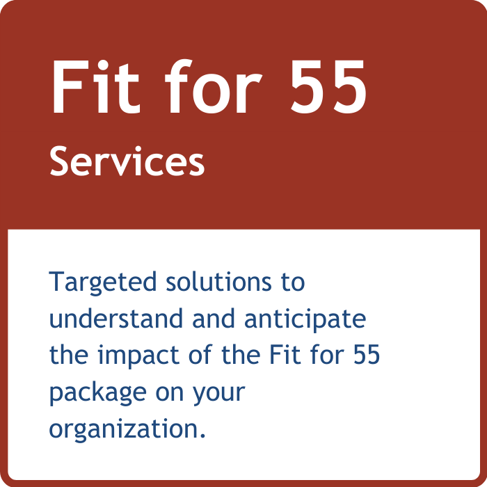 Fit for 55 services
